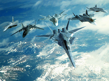 Ace Combat computer game fiction stealth fighter fake EASA X-02 Stealth AC5 Falken