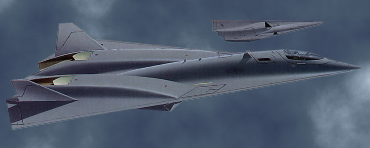 Northrop Grumman AX-17 fake fiction stealth fighter bomber