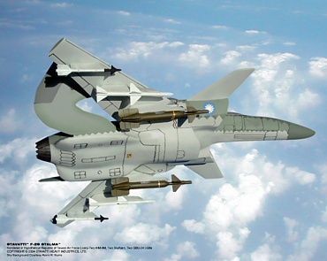 Stavatti heavy industries aerospace corp. F-26 SM-36 stalma stealth 6th generation fighter plane fake fiction