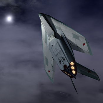Stealth MiG fictional fighter Tim Cameron fake