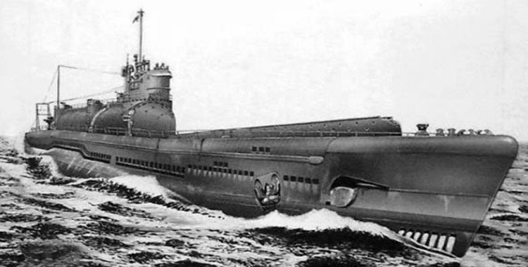 Japanese navy I-400 class submarine aircraft carrier
