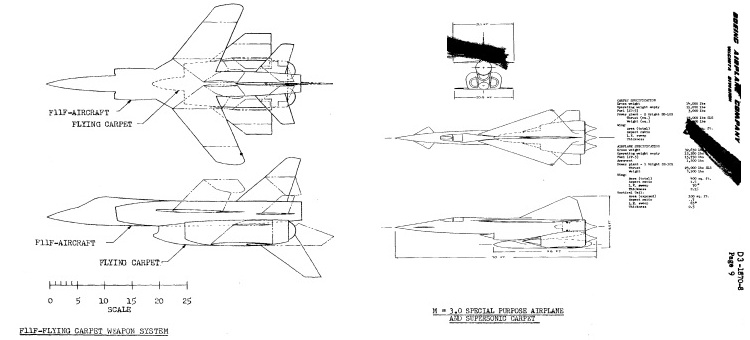 Flying Carpet fighters: F-11F Tiger and new Mach 3 VTOL fighter