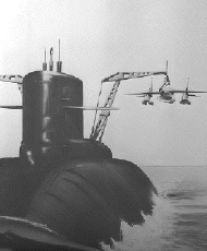 BAe Skyhook submarine mounted harrier hook trapeze