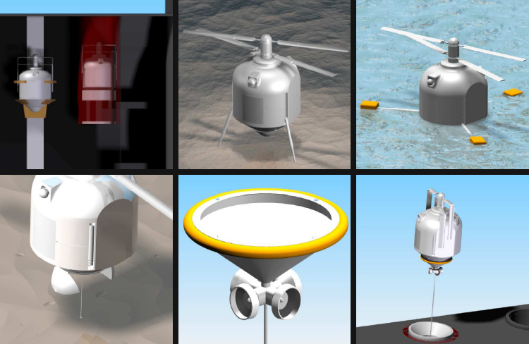 Waterspout submarine launched helicopter study