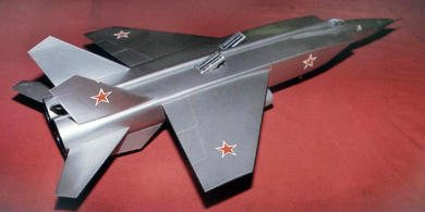 MiG Ye-155 STOL project experimental proposal supersonic fighter