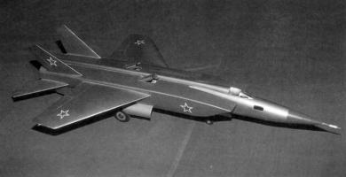 MiG Ye-155 STOL supersonic short take off and landing fighter project