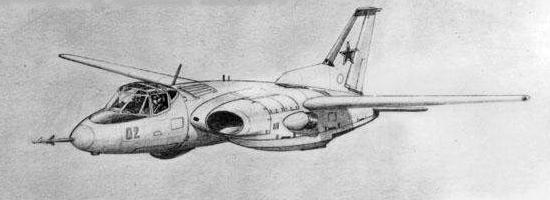 Kor.SVVP-70 VTOL navy plane proposal aircraft Berlin Korchagin