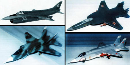 Jak-41 Yak-41 development variants proposals models VTOL STOL