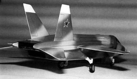 Jak-41 Yak-41 early model box nozzle research experimental version variant