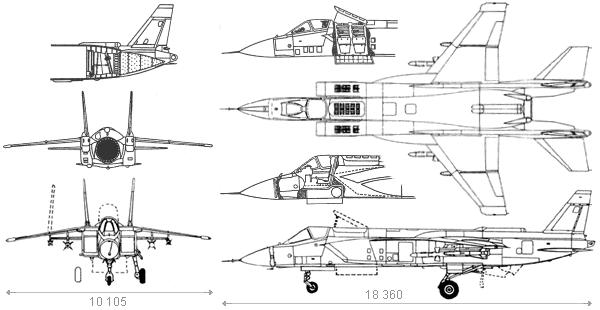 Yakovlev yak-41 yak-41m jak-41 jak-41m v/stol stovl fighter aircraft