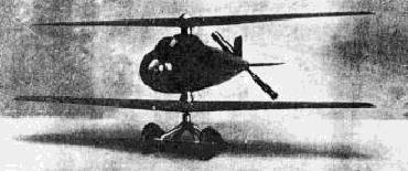 VTOL Marquis Raul Pateras Pescara VTOL coaxial helicopter proposal project spain