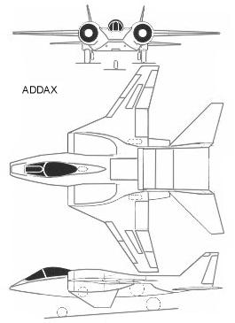 IML Group ADDAX VTOL New Zeland fighter bomber aircraft subsonic