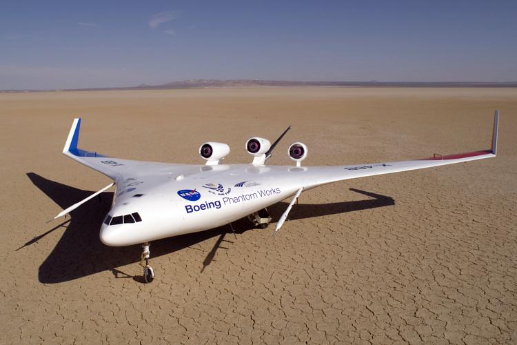 Boeing X-48