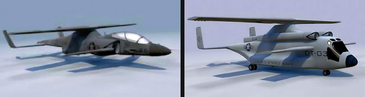 Boeing X-50A Dragonfly CRW Canard Rotor Wing  future rotorcraft concepts