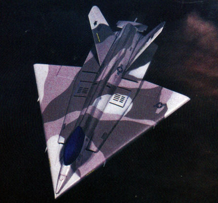 Boeing CALF low observable fighter proposal common affordable lightweight stealth