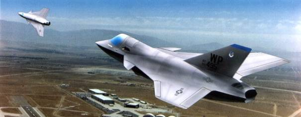 Northrop JAST TSC-1 Tri Service Commonality stealth fighter plane aircraft