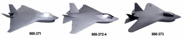 Boeing X-32 model 988-371 372-4 373 JSF joint strike fighter