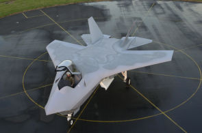 Boeing F-32 JSF joint strike fighter model mockup