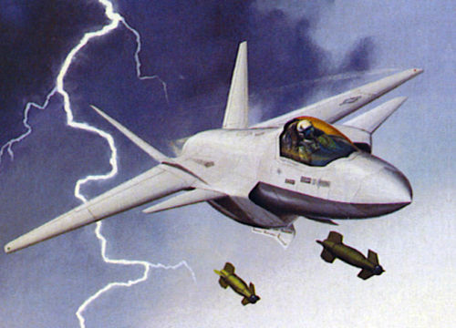Lockheed Martin JAST concept study project proposal fighter model 160