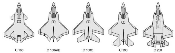 Lockheed JSF joint strike fighters variants modifications variations proposals alternatives