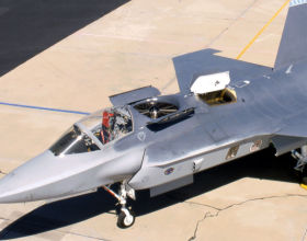 Lockheed X-35B STOVL JSF joint strike fighter short take off vertical landing stealth