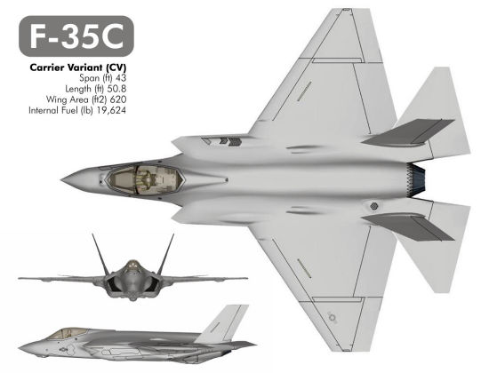 Lockheed/Martin F-35C U. S. Navy JSF joint strike fighter stealth