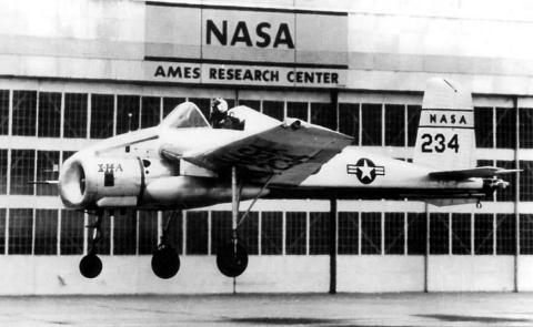 Bell X-14 X-14A experimental argumented thrust aircraft plane testbed