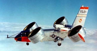 Bell X-22A V/STOL experimental ducted fan aircraft plane X-planes
